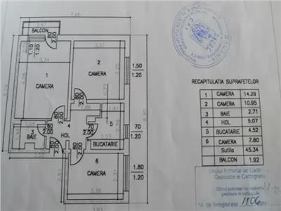 NOVISIMO-IMOBILIARE: APARTAMENT CU 3 CAMERE IN ZONA NORD